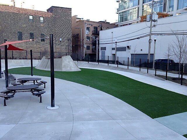Perfect Turf PetGrass at Fred Anderson Park in Chicago