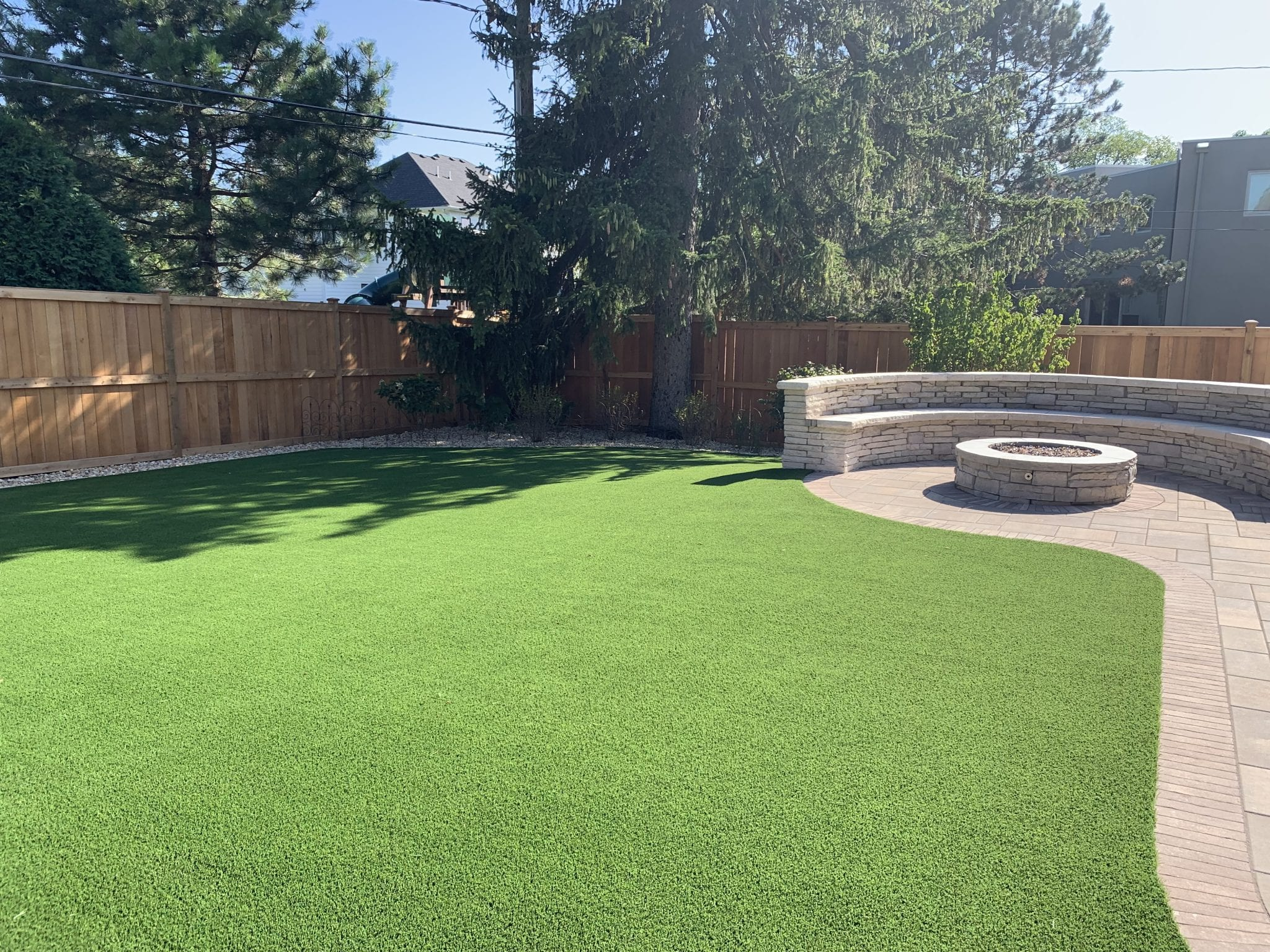 Clariden Hills-PetGrass Green installed in