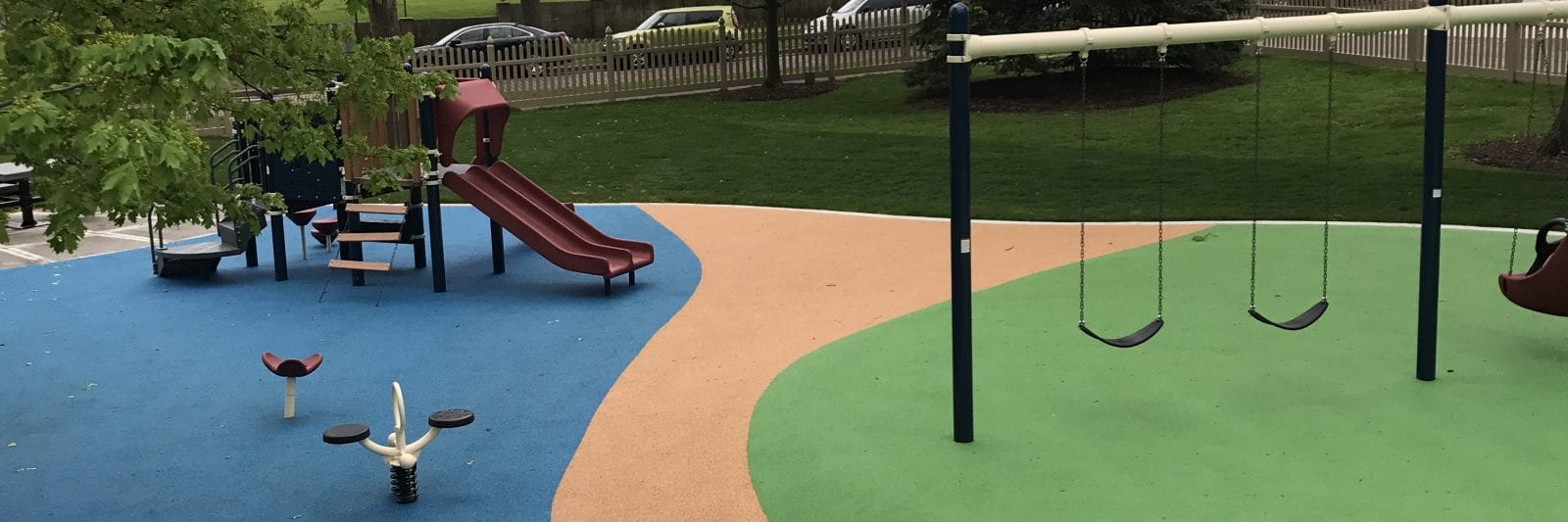 Photo of a Poured in Place Rubber playground